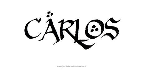 carlos  tattoo designs