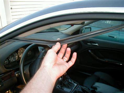 replace worn   hanging car door seals