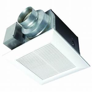 panasonic whisperceiling 50 cfm ceiling exhaust bath fan With panasonic bathroom fans home depot