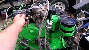 1952 Willys M38a1 F134 Hurricane Motor Running After Clean