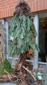 weihnachtsdeko aus naturmaterial selbstgemachter With französischer balkon mit wetterfeste figuren für den garten