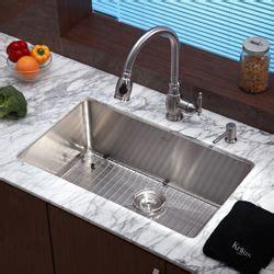 undermount kitchen sink for 30 inch cabinet kraus 30 inch undermount single bowl stainless steel 9814