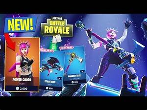 NEW UPDATE LEGENDARY POWER CHORD SKIN 11900 KILLS