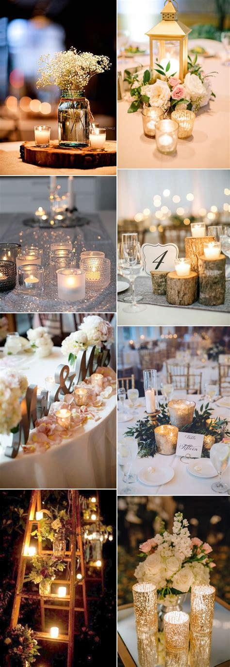 idee per candele 29 idee per decorare un matrimonio con le candele