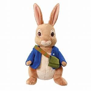 Peter Rabbit Talking Plush Soft Toys Lily Bobtail Peter ...