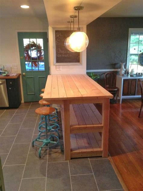 diy kitchen ideas 17 best ideas about narrow kitchen island on