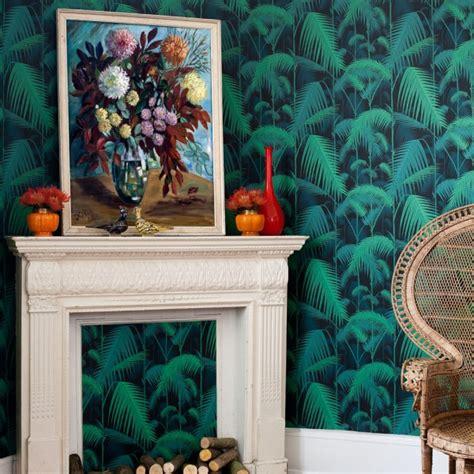 papier peint jungle vert palm jungle cole  son au