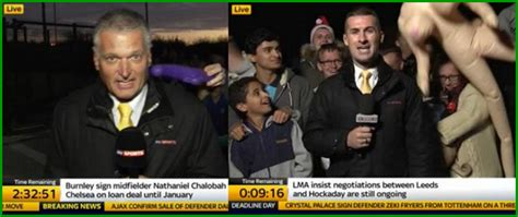 Sky Sports News To Ban Fans Crowding Behind Deadline Day ...
