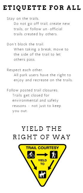 Trail Etiquette & Safety