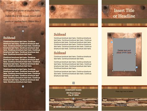 realty stylish brochure template  iwork templates