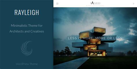 architecture portfolio sles rayleigh a responsive minimal architect theme by
