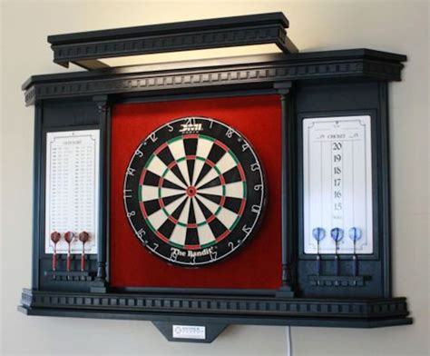 Dartboard Cabinets by How To Build An Outdoor Dartboard Stand Diy Projects For