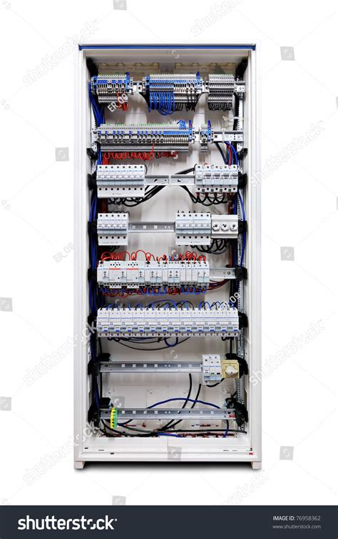 Electricity Fuse Box by Electricity Distribution Box With Wires And Circuit