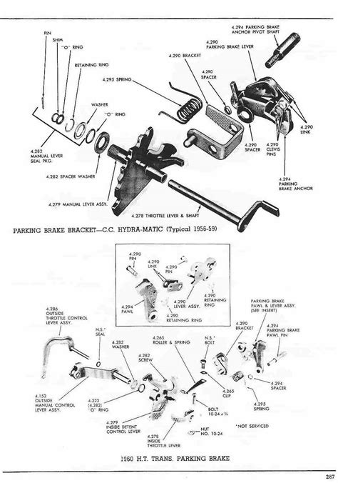 transmission control 1986 pontiac safari parking system pontiac 1960 master parts catalog