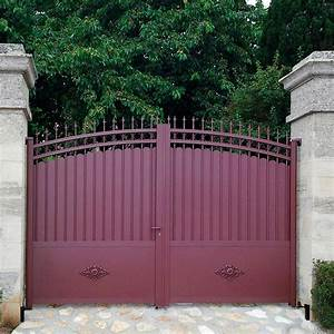 Portail Alu En Kit : portail en aluminium chambord motorisation portail ~ Edinachiropracticcenter.com Idées de Décoration