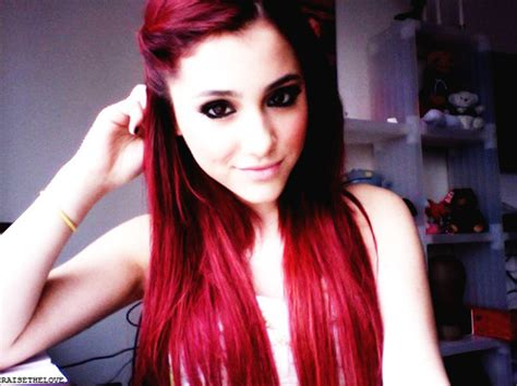 Best Wallpaper 2012 Ariana Grande Red Hair Tumblr