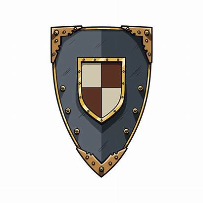 Middle Ages Shield Knight Stickers Factory