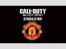 Emblem Manchester United Black Ops 2 By SergioLiveHD