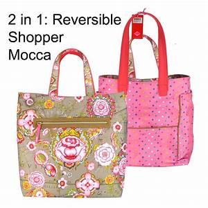 Taschen Zwei Reduziert : oilily handtasche shopper reversible fantasy flora mocca ~ Buech-reservation.com Haus und Dekorationen