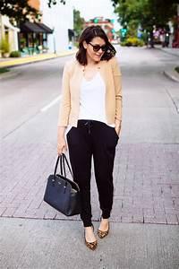Jogger Pants u2013 Office Chic u0026 Business Attire 2018 | FashionGum.com