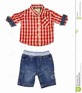 Boy Kid Clothes Isolated On White. Stock Photo - Image 40608520