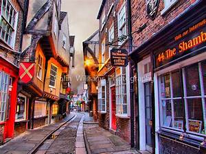 """ 44 The Shambles York - HDR"" by Colin Williams ..."