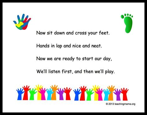 10 preschool transitions songs and chants to help your 576 | 90e2d1be1fd12845697c8bb651a0bba1
