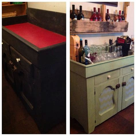 Dry sink redone with chalk paint   My projects   Pinterest