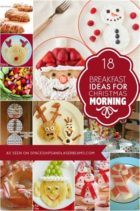 christmas inspired breakfast 29 recipes spaceships and laser beams