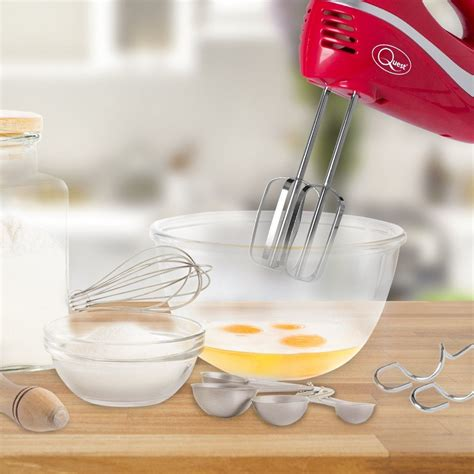 hand held mixer electric food blender kitchen whisk speed