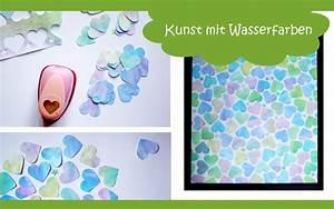 Mit Wasserfarbe Malen : kunstvolle idee zum malen mit wasserfarben und kindern ~ Watch28wear.com Haus und Dekorationen