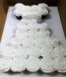 wonderful diy amazing wedding dress cupcake - Cupcake Wedding Dress