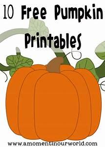 10 Free Pumpkin Printables