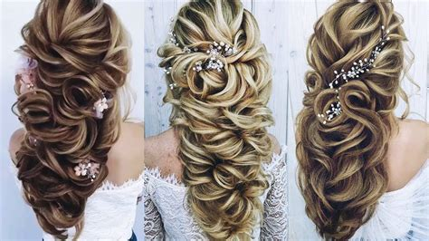 beautiful wedding hairstyles for long hair professional hairstyles compilation 2018 youtube