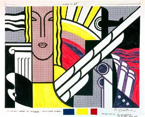 moderne tapisserie bande dessin 233 e huile de roy lichtenstein 1923 1997 united states