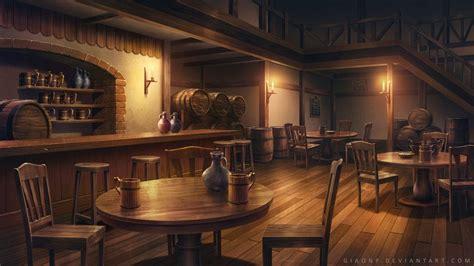 karczma fantasy world   fantasy landscape anime