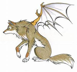 Brown Demon Wolf by CaptainMorwen on DeviantArt