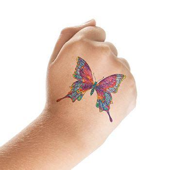 10+ Amazing Glitter Tattoos Designs