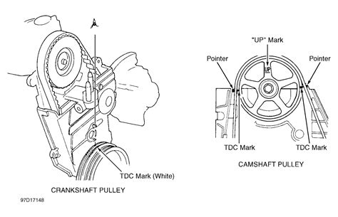 Camshaft Timing Marks Need Diagram For