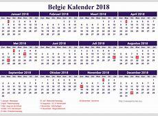 Belgie Kalender 2018 newspicturesxyz
