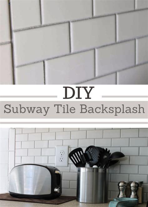Simply Beautiful by Angela: DIY Subway Tile Backsplash