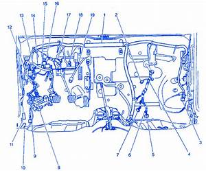 Chevy Metro 2000 Junction Electrical Circuit Wiring