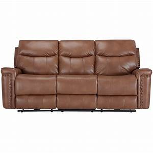 city furniture wallace medium brown microfiber power With microfiber reclining sofa