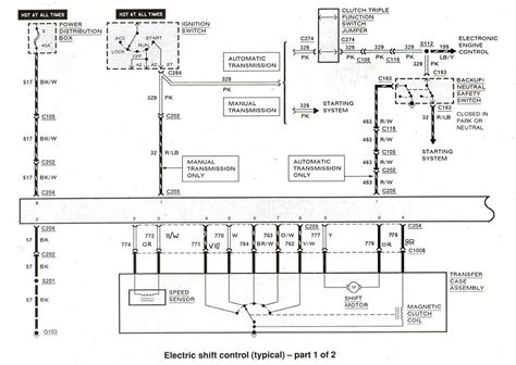Wiring Diagram Transfer Case Range Position Sensor