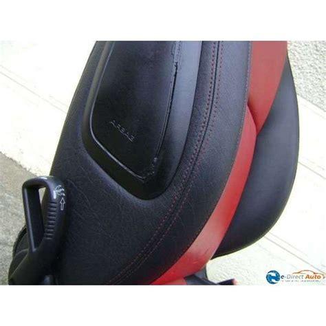 siege auto 206 cc siege cuir noir et peugeot 206 cc