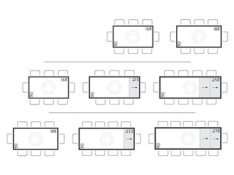 Dimensioni Sala Da Pranzo by Dimensione Tavoli Da Pranzo Terredelgentile