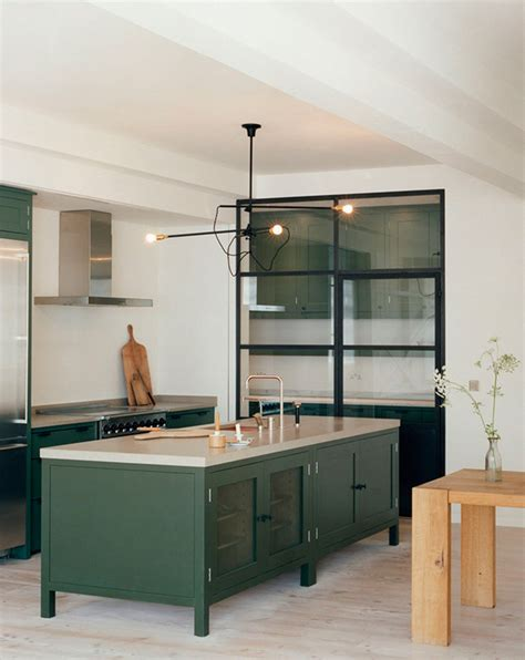 green kitchen furniture bored of white kitchens discover the cabinet color 1411