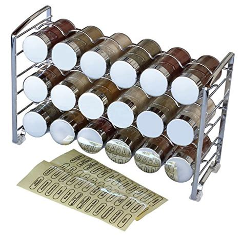 Spice Rack And Bottles by Gt Gt Gt Sale Decobros Spice Rack Stand Holder With 18 Bottles