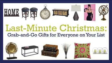last minute christmas grab and go gifts for everyone on