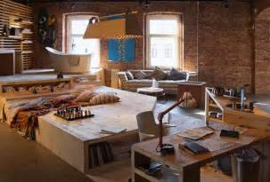 interior decorated homes loft living space modern interior design and trends in decorating